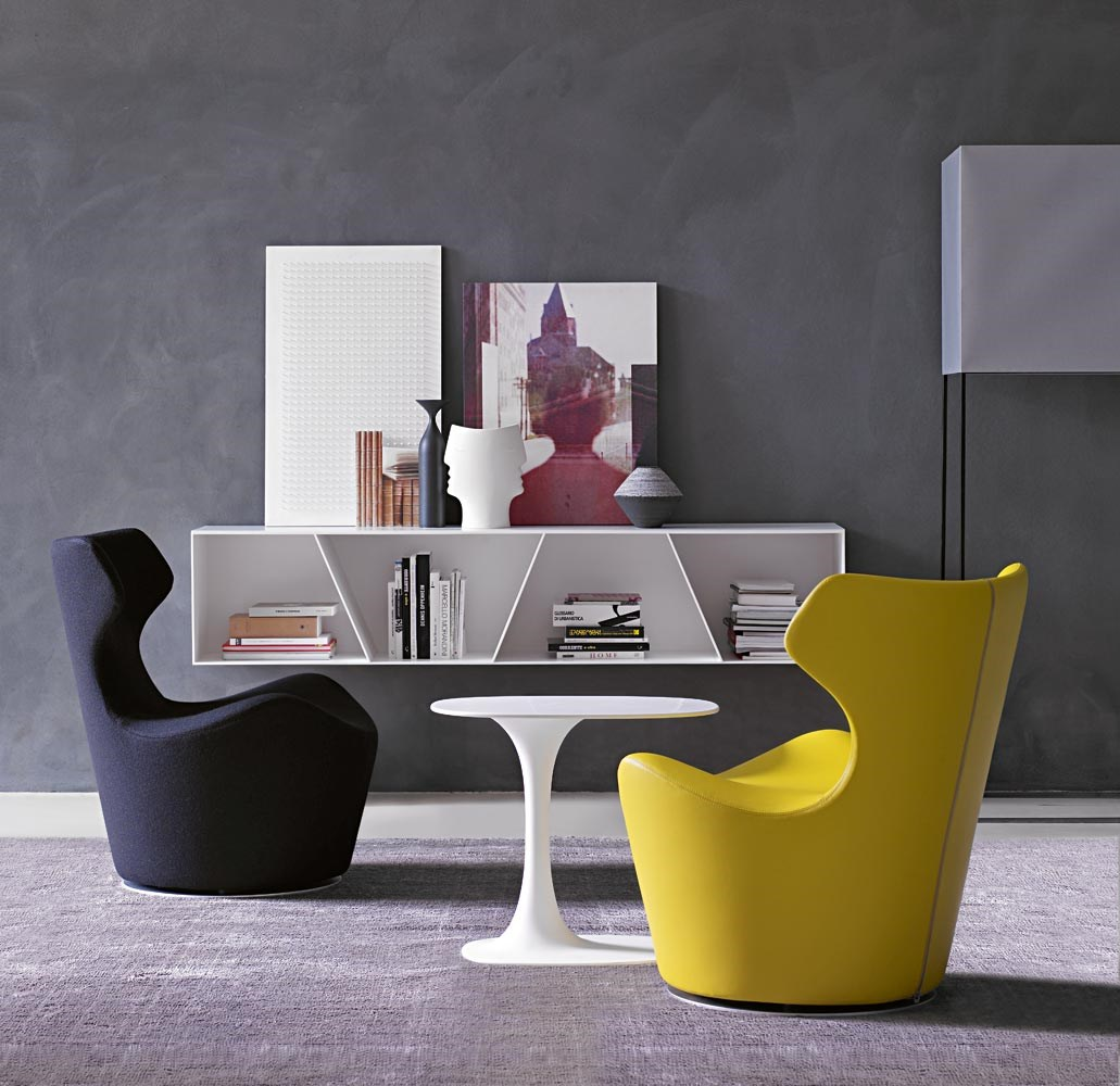 B&B-Italia-Naoto-Fukasawa-Papilio-Armchair-Mini-Chair-Matisse-6