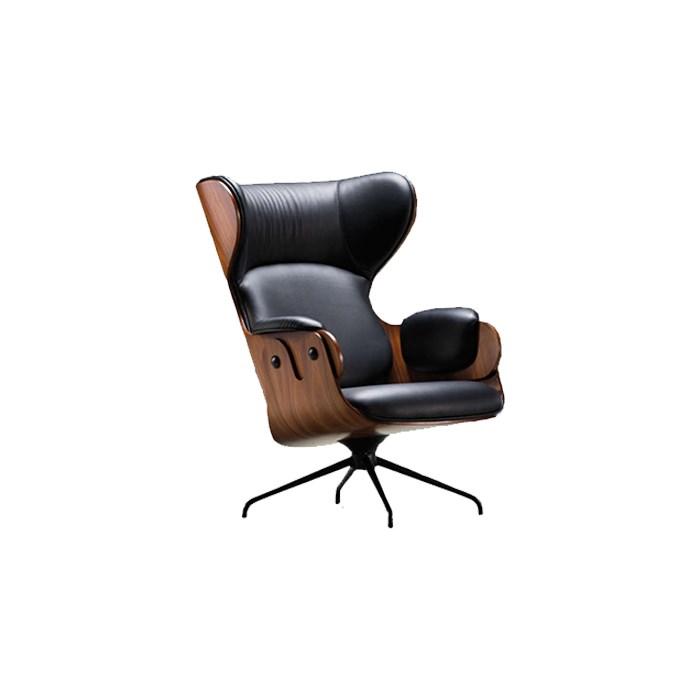BD-Barcelona-Jaime-Hayon-Lounger-Armchair-Black-Matisse-1