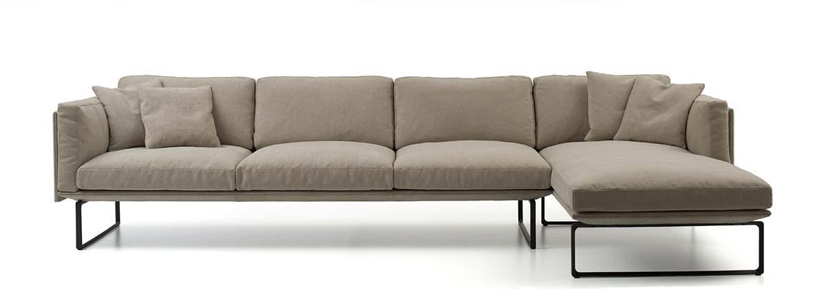 Cassina Lissoni 202 8 Sofa Beige 1200