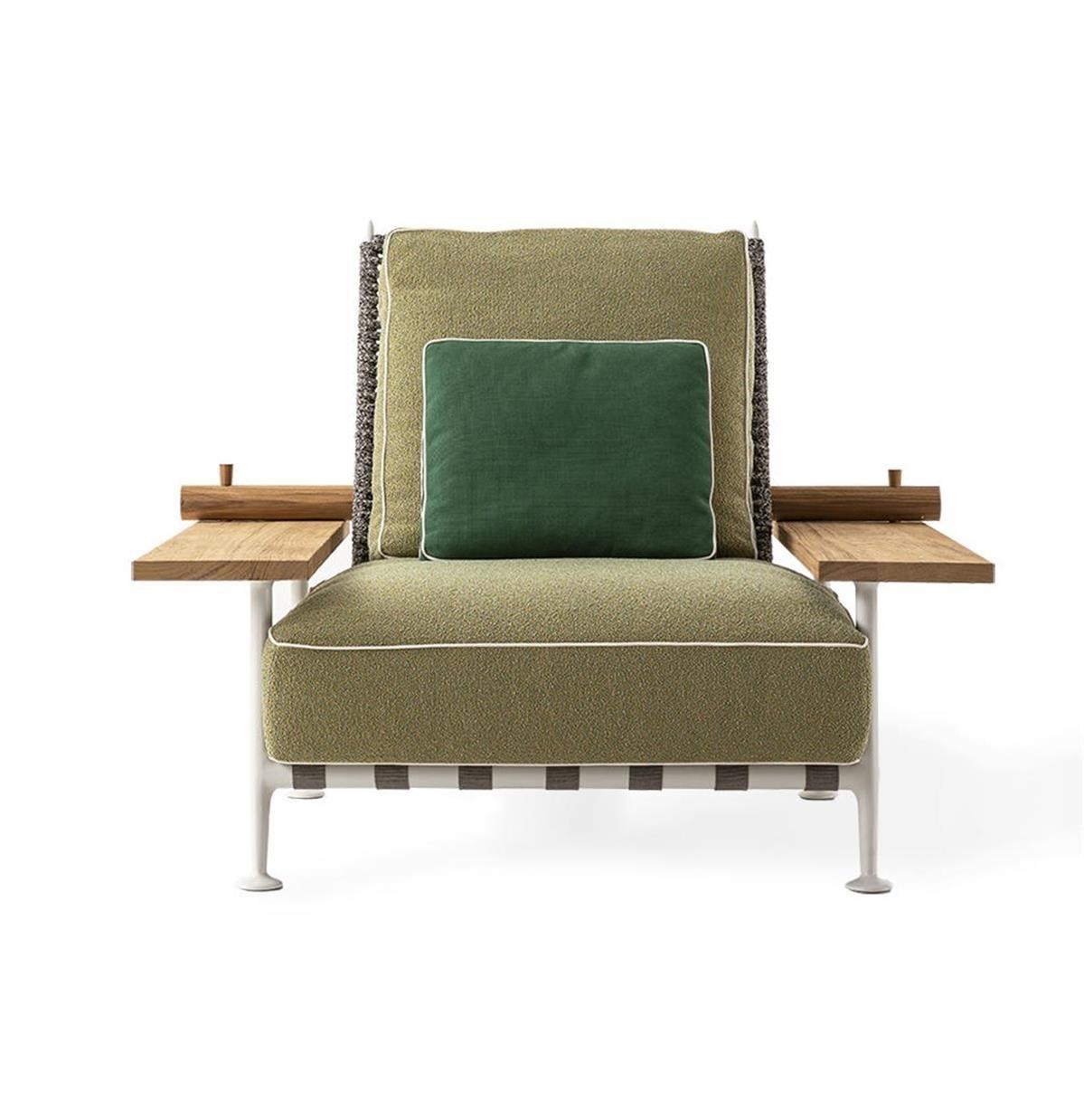 Cassina Starck Fenc Enature Armchair Outdoor 1200