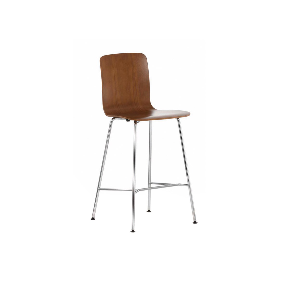 Vitra Morrison Hal Stool High Chairs Brown 1200