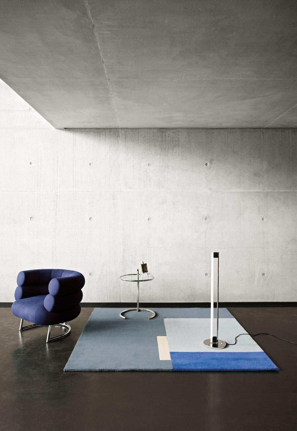 Classicon Bibendum Armchair Roquebrune Rug Adjustable Table E 1027 Tube Light Floor Lamp Photo Seelen