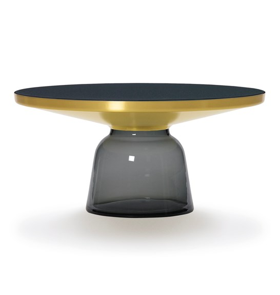 Classicon Bell Coffee Table Brass Grey 1X 546