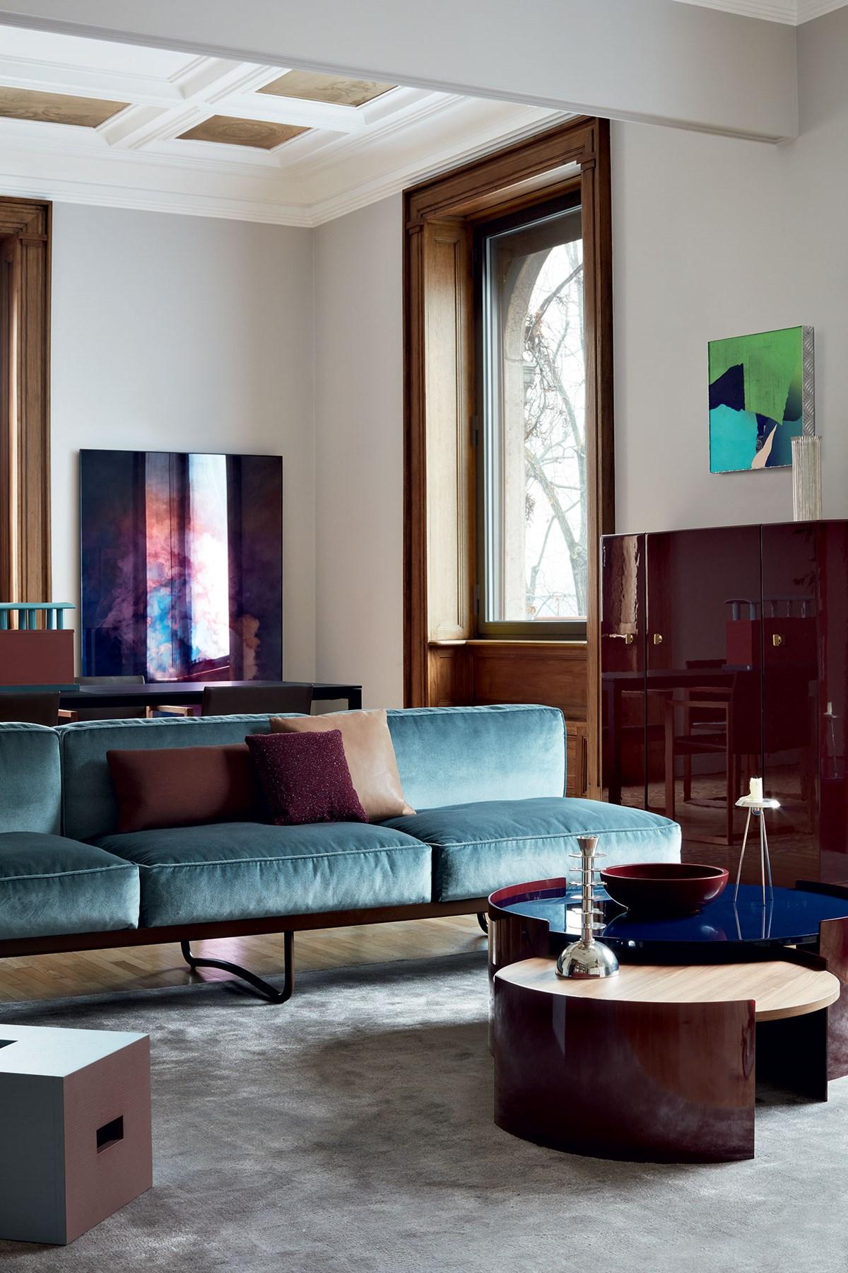 Cassina-Le Corbusier-Pierre Jeanneret-Charlotte-Perriand-LC5-Sofa-Matisse-5