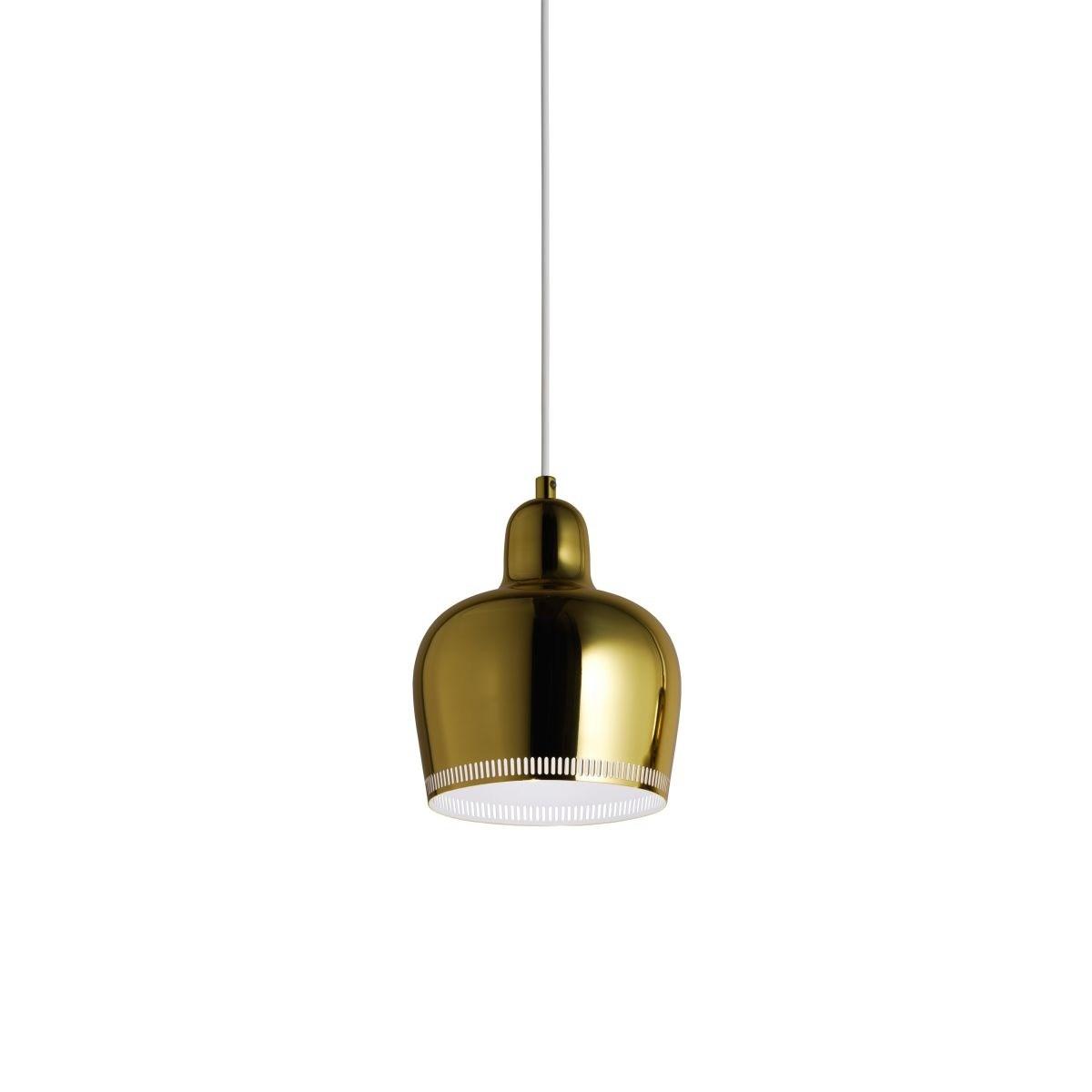Artek Aalto Goldenbell Pendant Clear