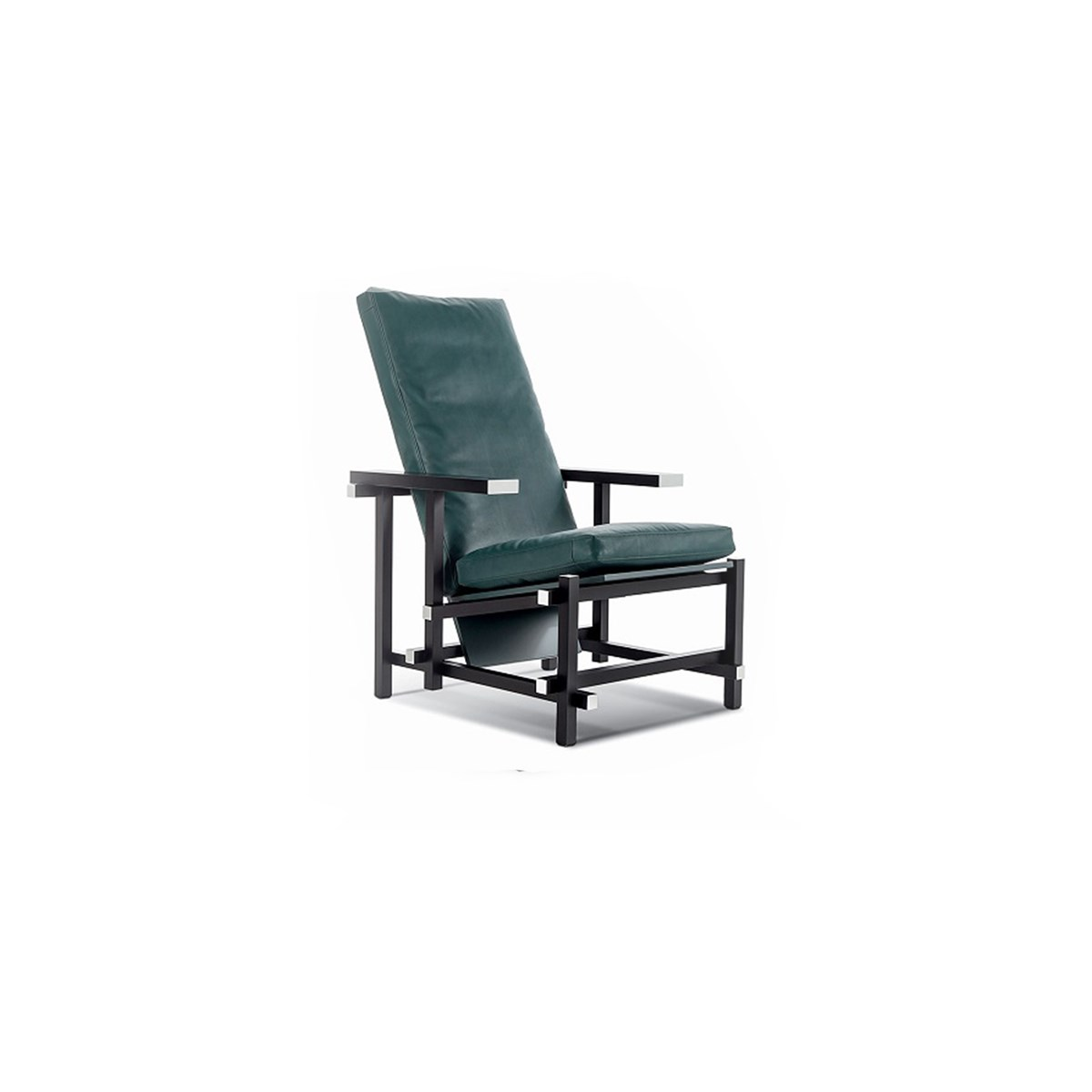 Cassina-Gerrit-Thomas-Rietveld-Black-Red-Blue-Armchair-Matisse-1