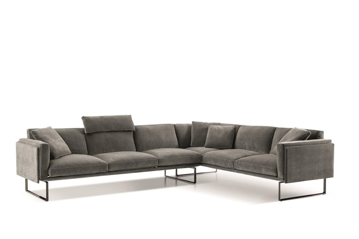 4017 Still Life Divani Catalogo Living Products 2019 202 8 Piero Lissoni Ortigia 13L651 Cenere 137