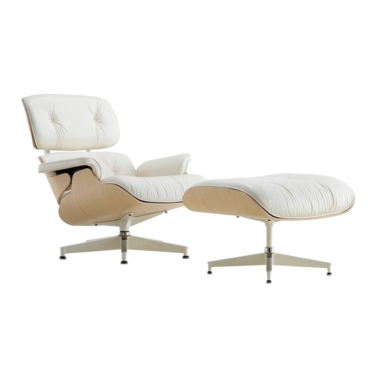Herman-Miller-Charles-Ray-Eames-Eames®-Lounge-Chair-Ottoman-Matisse-1