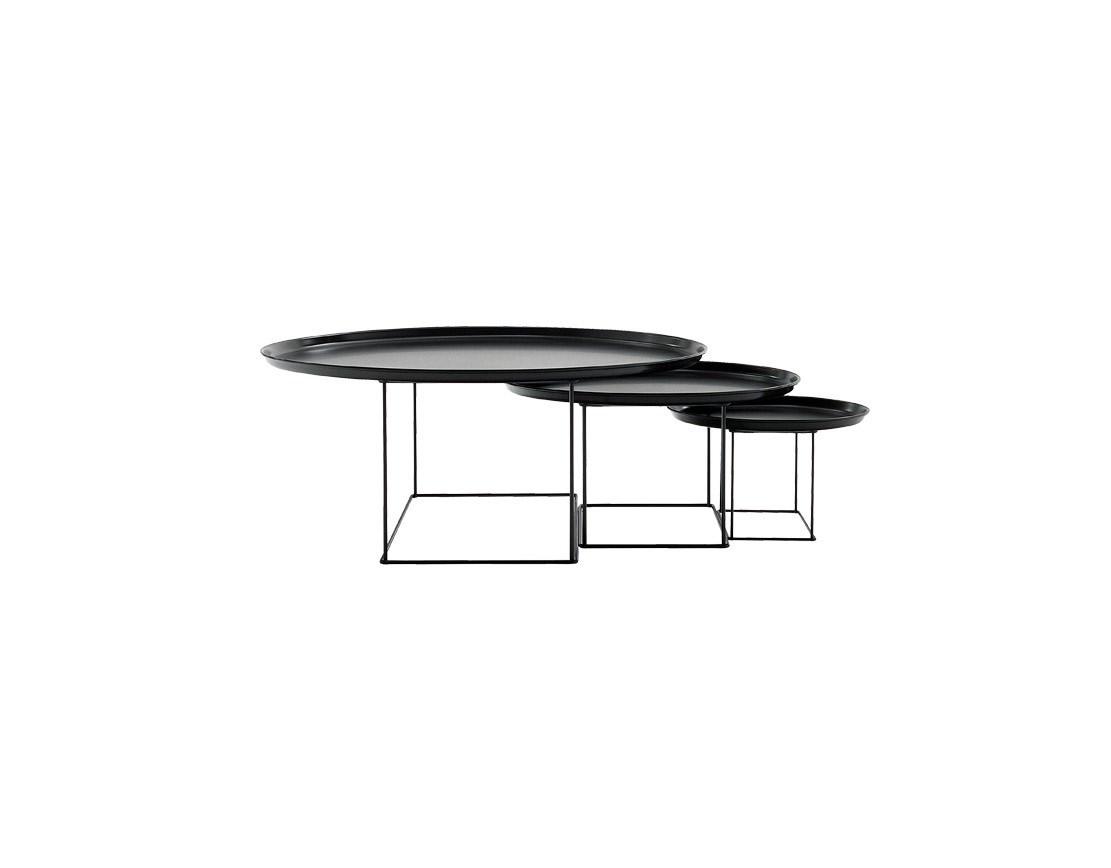 Bbitalia Urquiola Fatfat Tables Clear